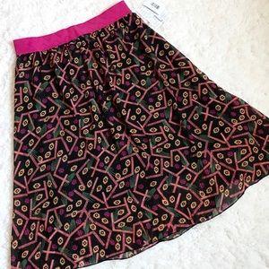 Black & Pink LuLaRoe Lola Skirt 💃